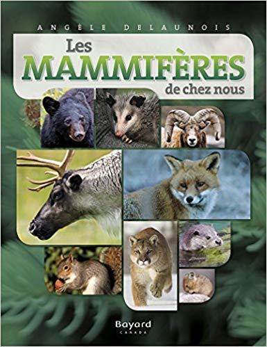 Les mammifères de chez nous de Angèle Delaunois