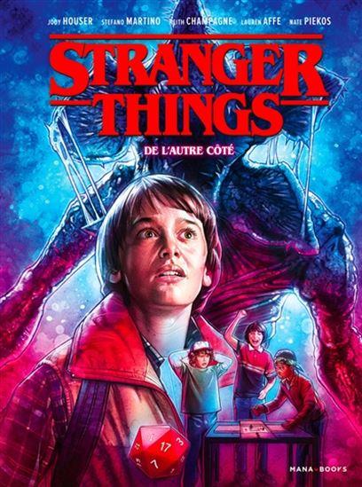 Stranger Things T.1 : De l'autre côté de Jodie Hauser