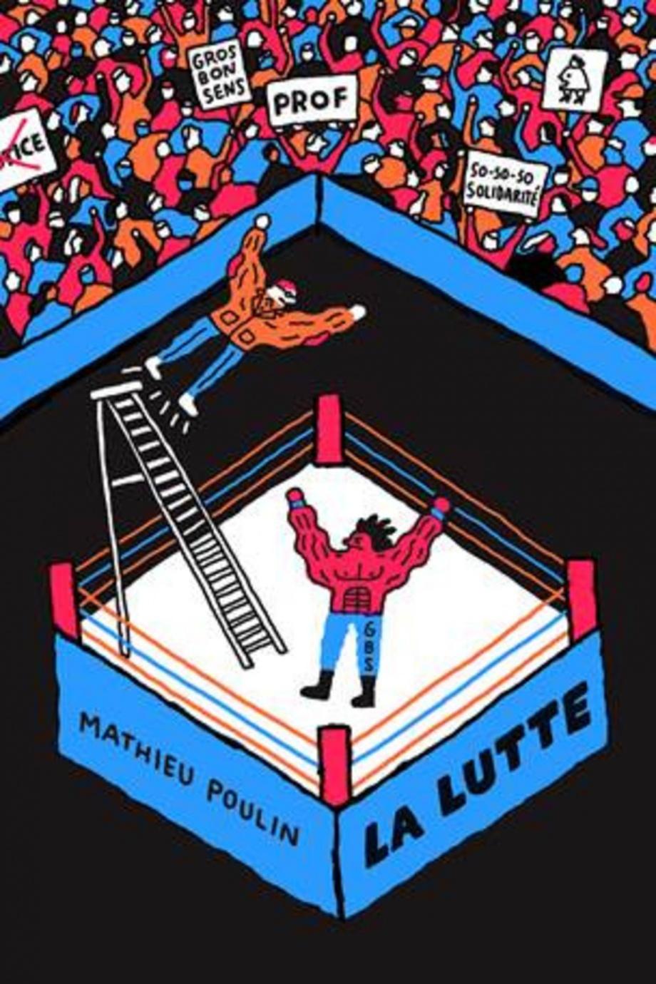 La lutte de Mathieu Poulin