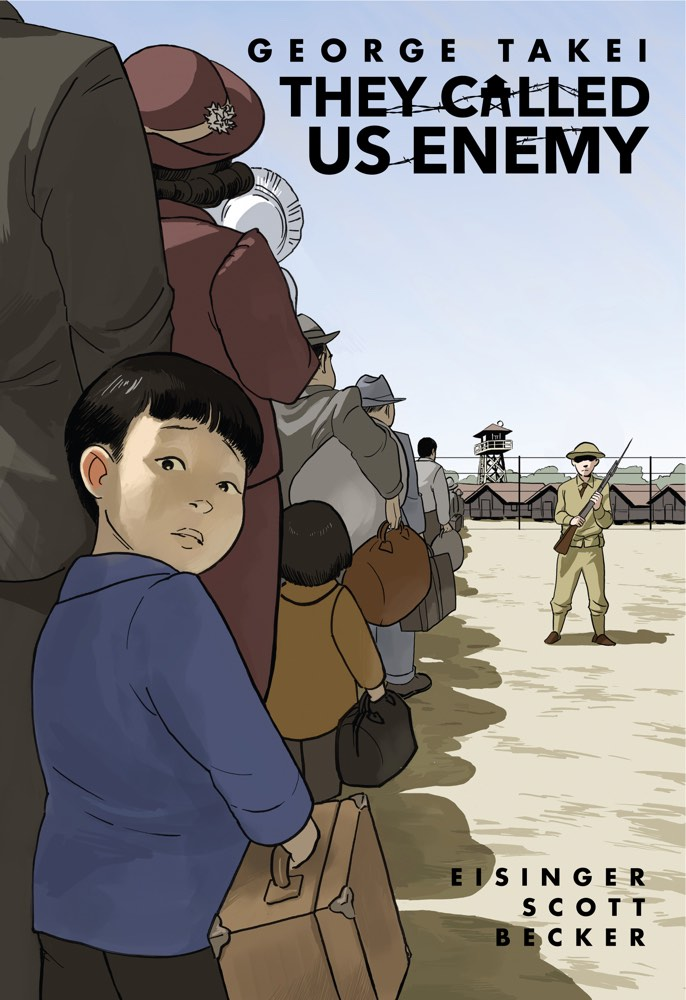 They called us enemy de George Takei