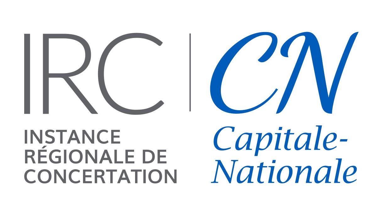 Logo Instance régionale de concertation Capitale-Nationale