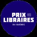 Icône mention Prix des libraires du Québec