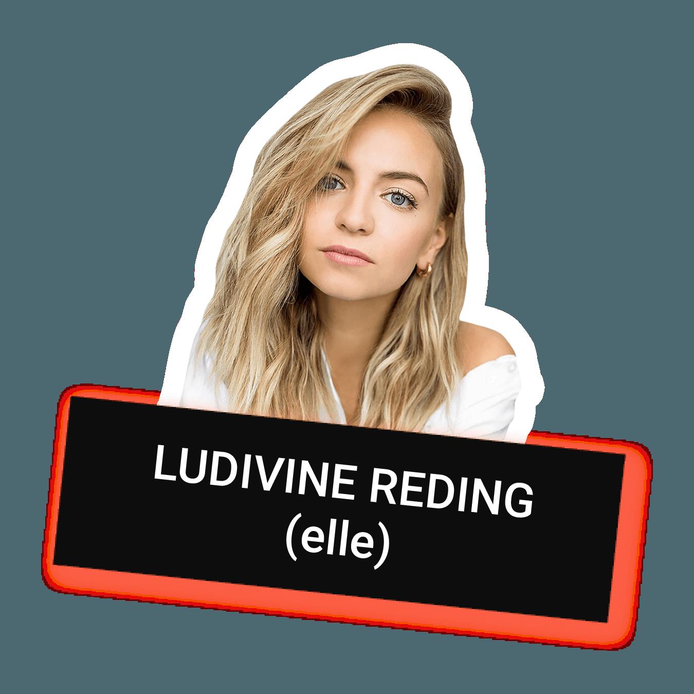 Ludivine Reding